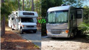 Class A RV or Class C RV which one to go for ? (21 imp factors to Consider)