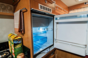 How many amps does an RV refrigerator draw