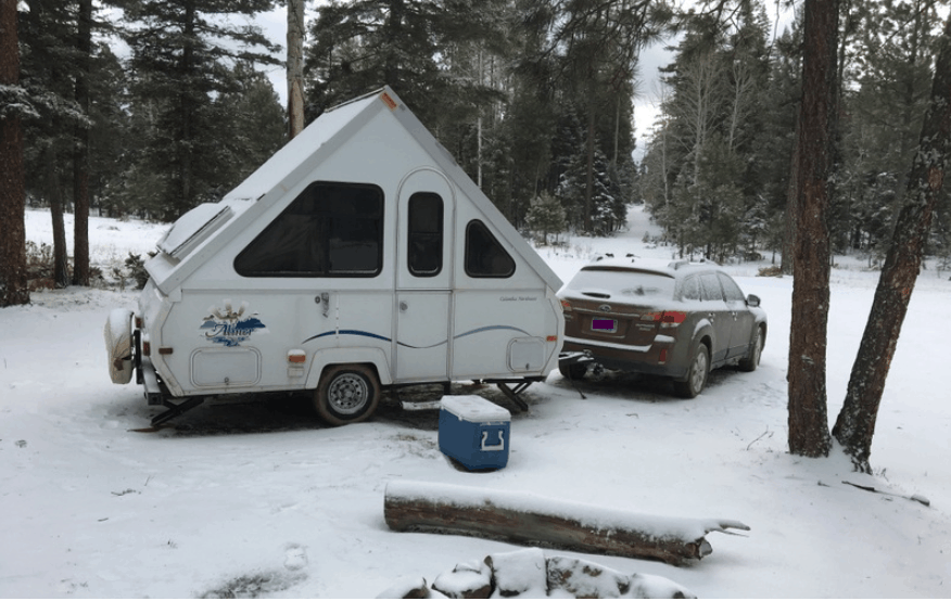 How to insulate a camper trailer for winter use (7 Tips)