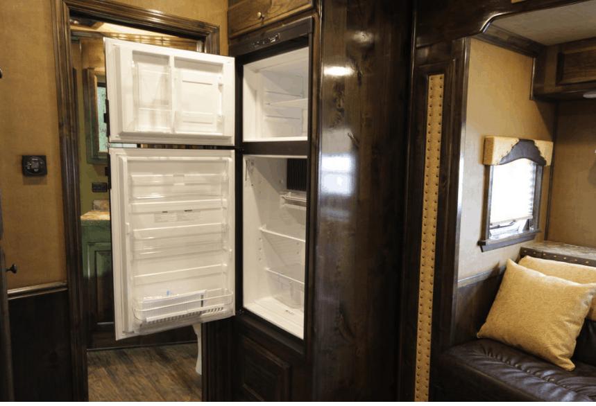 Do RV refrigerators run on propane