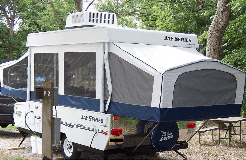 Do tent trailers come with air conditioning ?