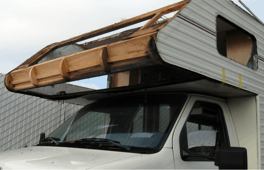 How to fix RV water damage