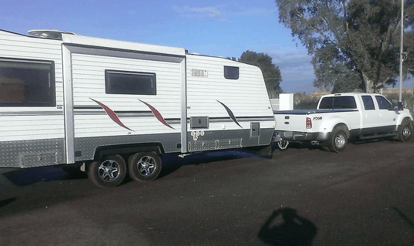 Towing a travel trailer for the first time – tips