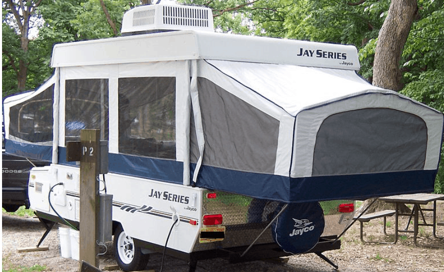 How to add an air conditioner to a pop-up camper