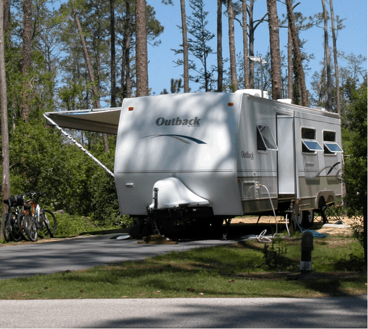 What to Expect in a Travel Trailer living