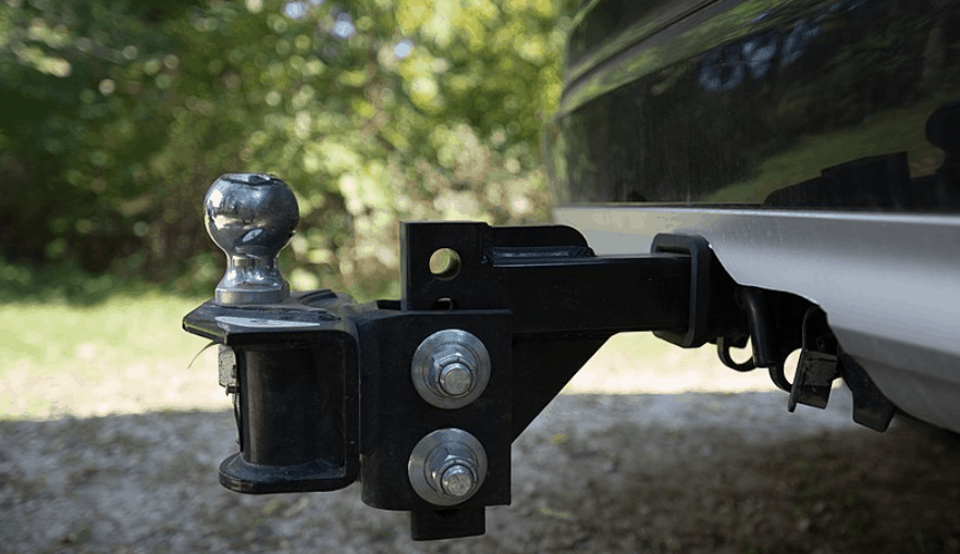 rv hitch for towing car behind rv