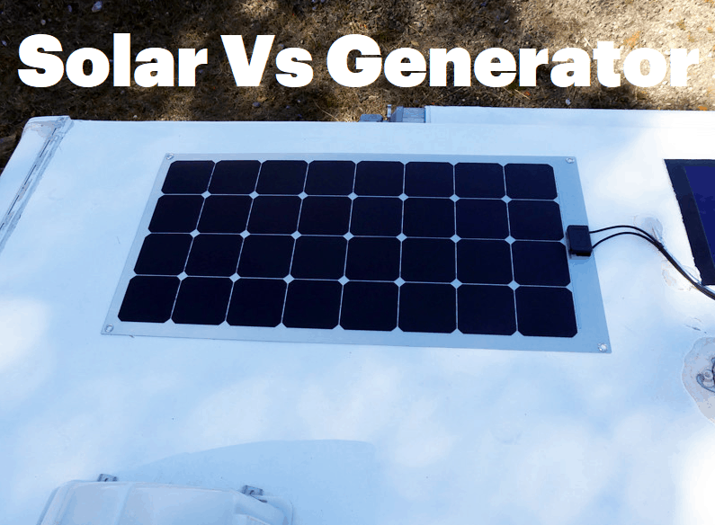 Generator vs Solar for RV – Which Is Better Option?