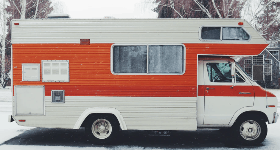 a Used RV parked