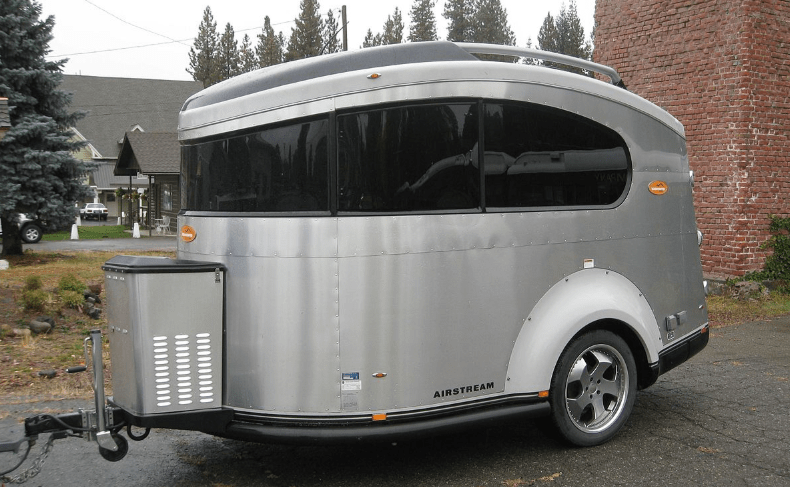 Airstream basecamp - one of the many models from airstream