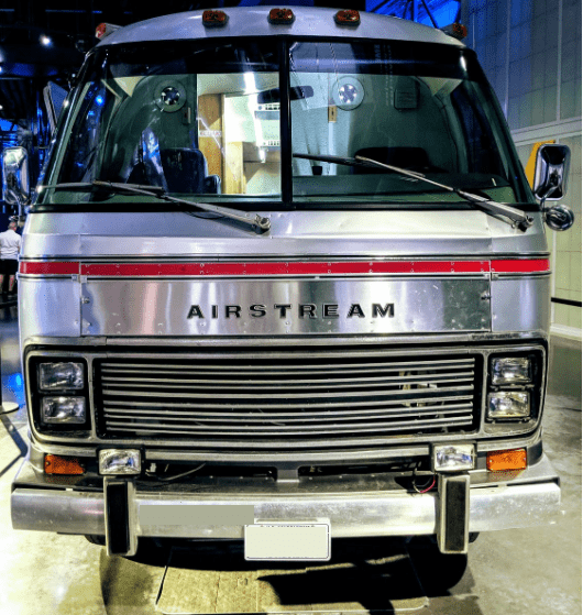 an airstream inside the factory