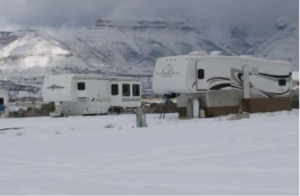 How To Store Your RV Outside In Winter