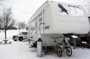 What Can I Leave In My RV Over The Winter Storage